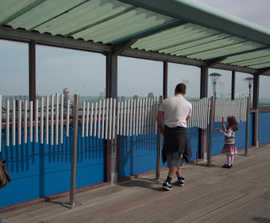 Musical trail at Boscombe Pier, Bournemouth