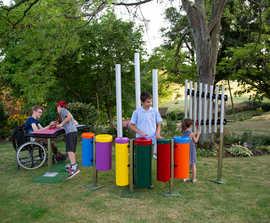 Alto Quartet - outdoor musical instrument ensemble