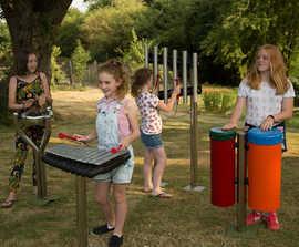 Soprano Quartet - outdoor musical instrument ensemble