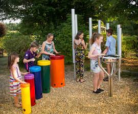 Trio - outdoor musical instrument ensemble