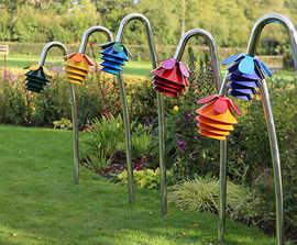 Harmony Bells - outdoor musical flowers