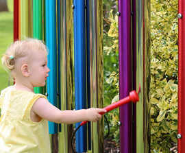 Calypso Chimes for outdoor musical play areas