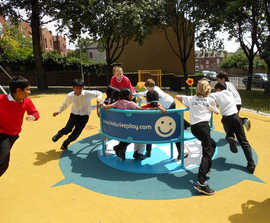 Wheelspin Inclusive Play Roundabout