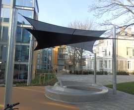 In & Out bench by Lucile Soufllet, King's College London