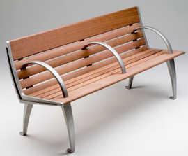 Austin Timber and Aluminium Bench