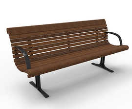 Gretchen Seat - recycled plastic bench