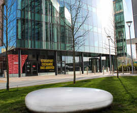 Stone Benches for Stockport Exchange