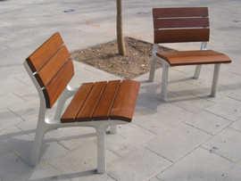 NeoRomantico Clasico bench by Santa & Cole Urbidermis