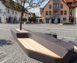 Osa Concrete Bench By Concrete Rudolph