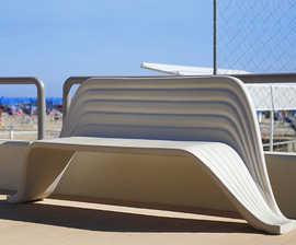 Onda Bench by LAB23