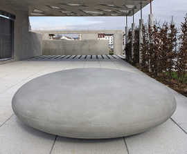 Stone by Concrete Rudolph