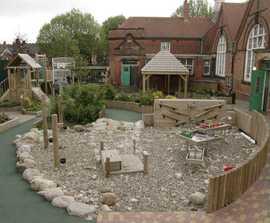 Regeneration of outdoor areas at Grove Senior School