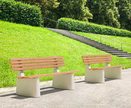 Reforma Park Bench
