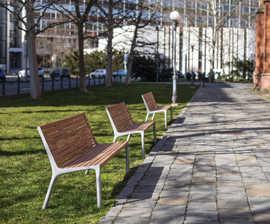 Vltau Park Benches