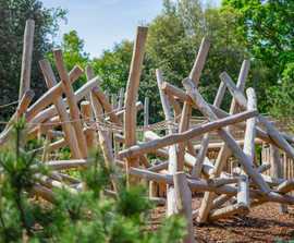 Log Climbing Frame No.4 (CL.2.04)