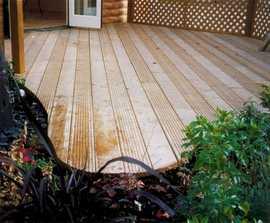 Q-Deck® Canterbury style decking boards, 27x144mm