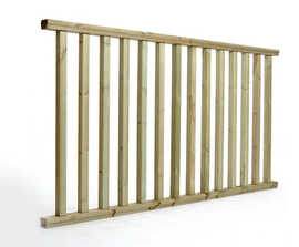 Q-Deck® Plus Classic ready made decking balustrade