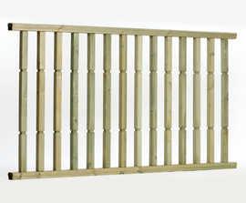 Q-Deck® Plus Contemporary ready made decking balustrades