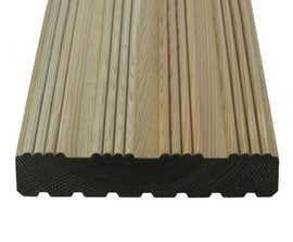 Q-Deck® Winchester decking boards, 27x144mm