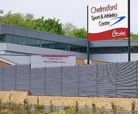 Italia-100 perimeter fencing for Chelmsford Sports Club
