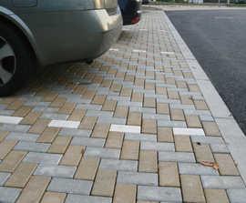 Infilta permeable block paving
