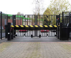 HVM security solutions for airport distribution centre