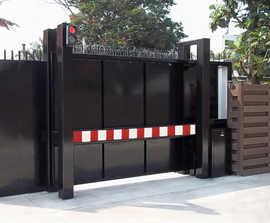 PAS 68 Terra Sliding Cantilevered Gate 7.5t @ 50mph