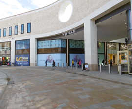 HVM bollards and vehicle gates protect shopping centre