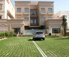 360m3 of Grasscrete system GC1, private car park, Kuwait