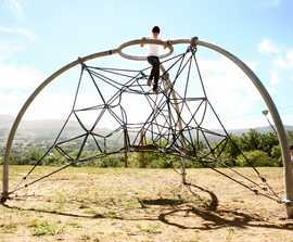 Redes 3-pole climbing dome