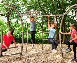 Calisthenics outdoor gym equipment