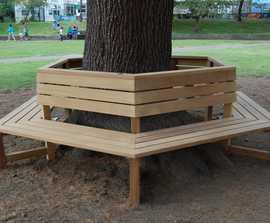 Hardwood tree seats