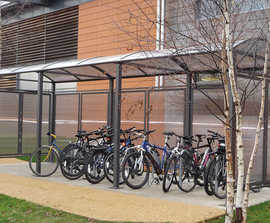 Voute cycle shelter