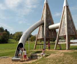 Richter Spielgeräte Tunnel Slide