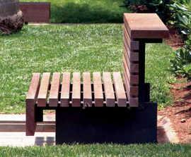 Moon bench by Santa & Cole Urbidermis