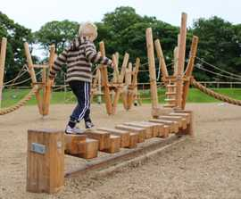 Adventure playground for Yorkshire Wildlife Park