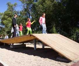 Richter Spielgeräte Big seesaw platform