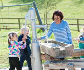 Multipurpose creative playground enhances heritage site