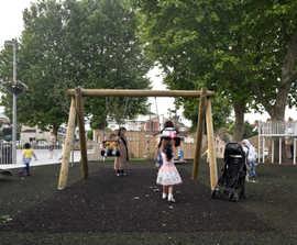 Multipurpose playground realises community play strategy