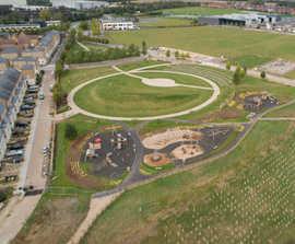 Playground design and installation - Priors Hall Park