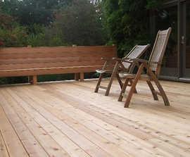 Cascadia - Western Red Cedar decking