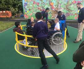 2.2m wheelchair roundabout