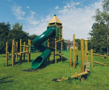Zion adventure play tower