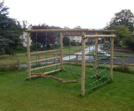 Activity Climbing Frame - 5 linked challenges