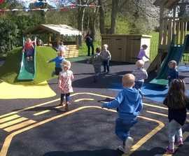 Refurbishment of a pre-school playground