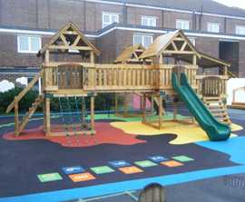 Playground created in collaboration with children