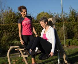Urbanix outdoor fitness equipment