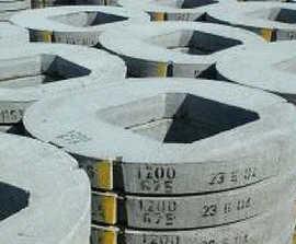 Precast concrete manhole cover slabs