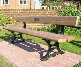 Palace - cast iron and timber seat