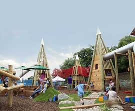 Natural adventure playground, Little Wormwood Scrubs